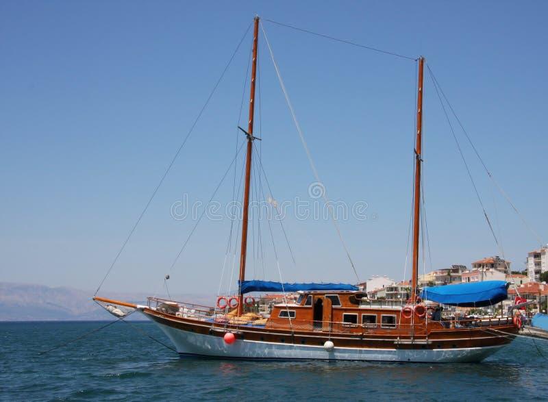 Barco turco del gulet fotos de archivo