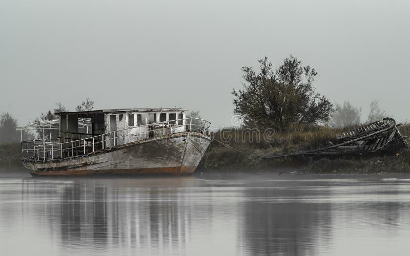Barco velho imagens de stock royalty free