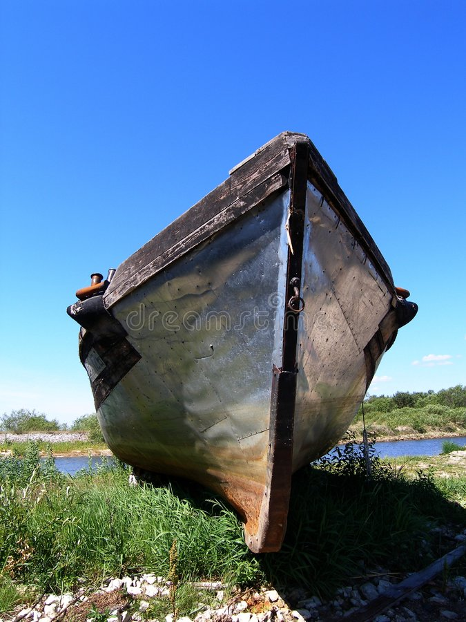 Barco viejo fotos de archivo