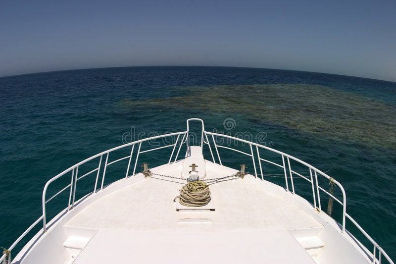 Barco Y Horisont Foto de archivo libre de regalías
