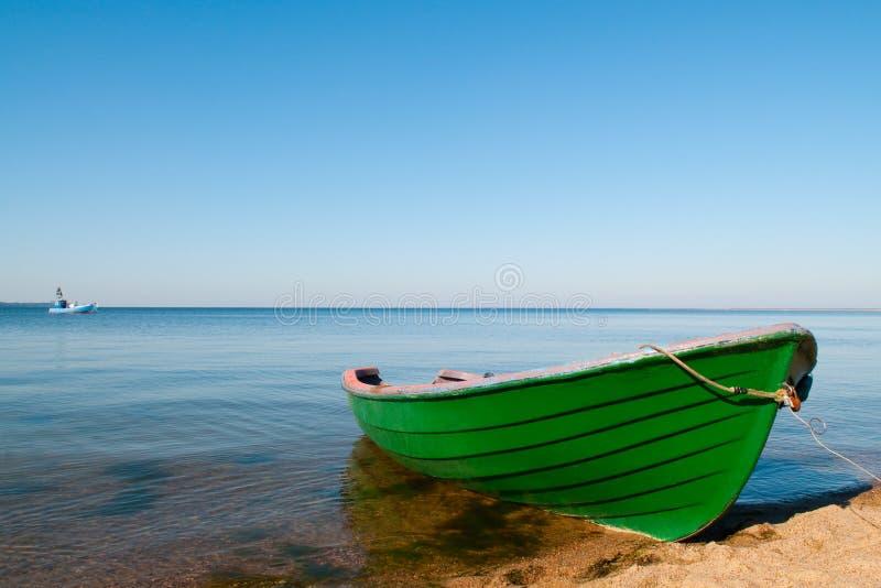 Barco y mar fotos de archivo libres de regalías