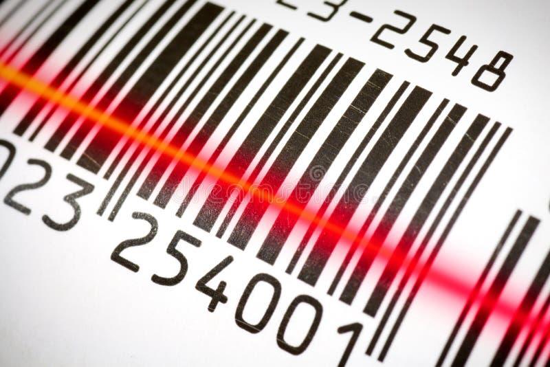 Barcode stockfoto