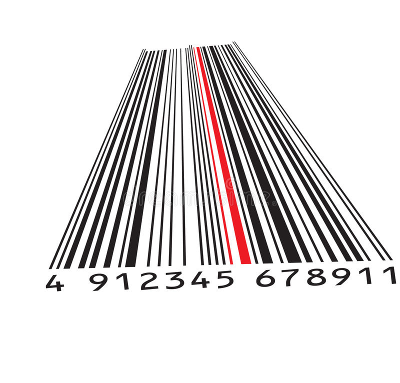 Download Barcode stock vector. Image of packaging, code, electronic - 15378026