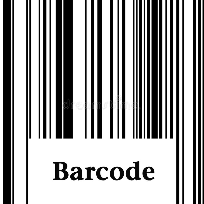 barcode royalty ilustracja