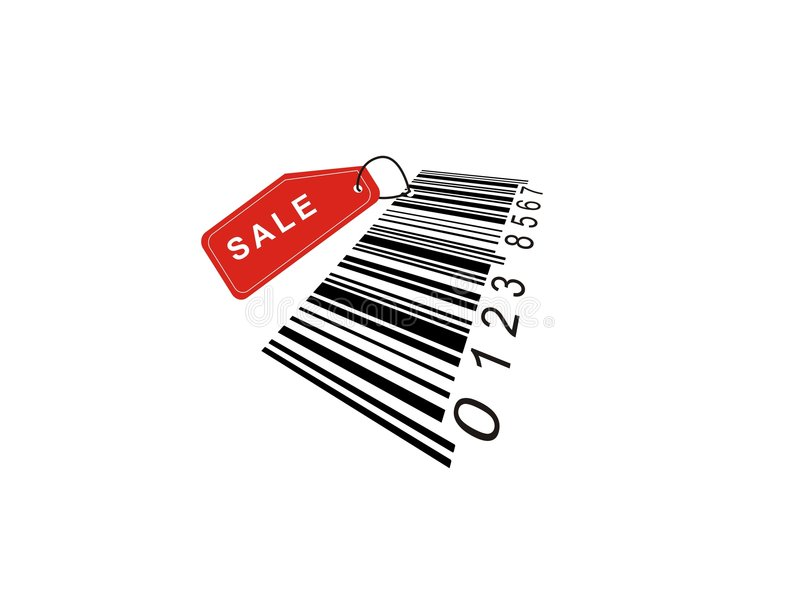 Download Barcode stock vector. Illustration of sell, purchase, coupon - 3861263