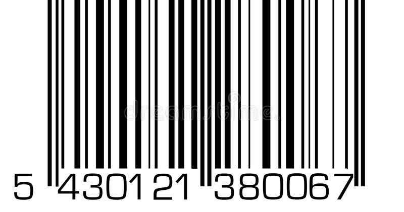 barcode stock illustrationer
