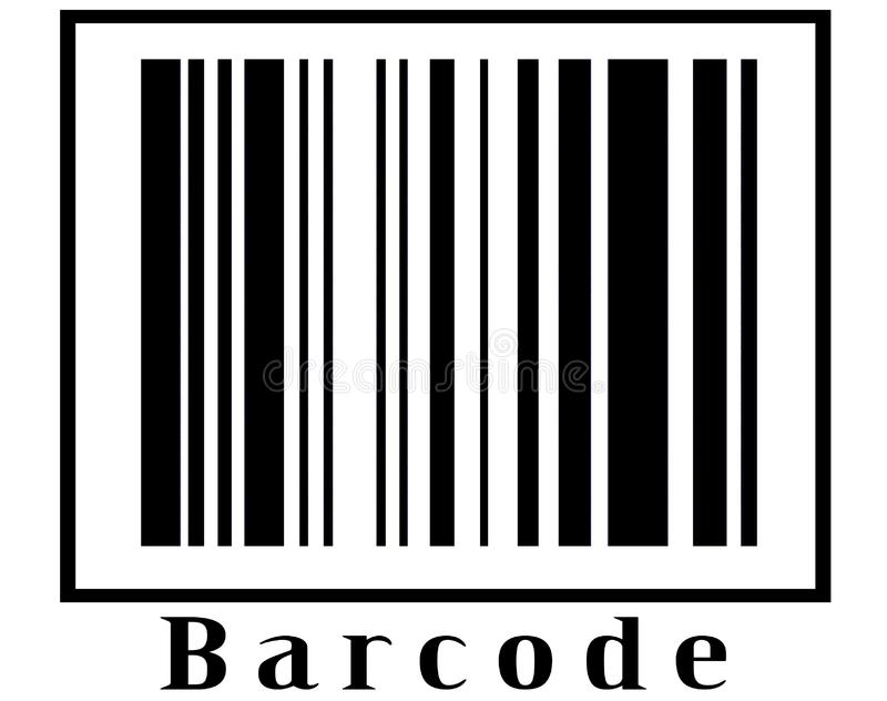 Barcode 5 royalty free stock images