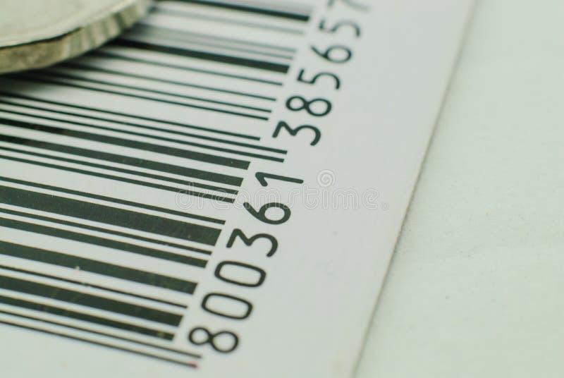 Barcode royaltyfri foto