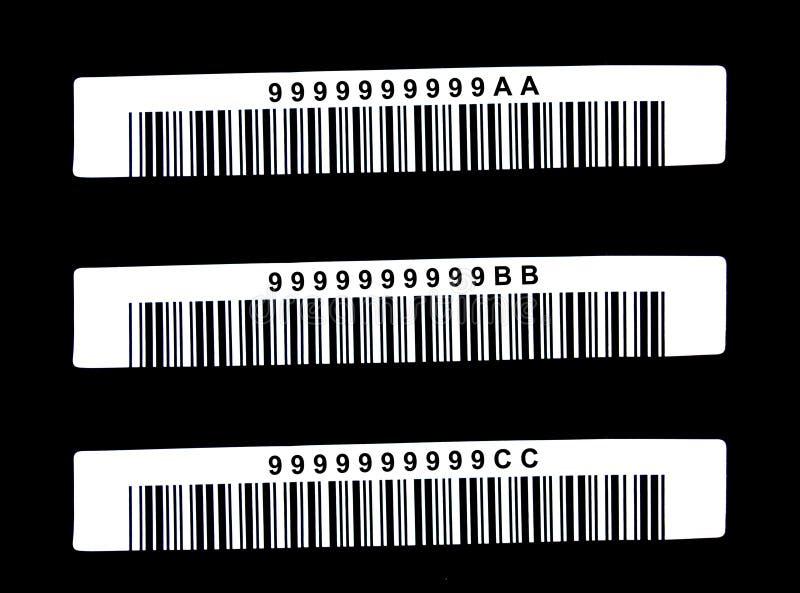 Barcode royalty free illustration