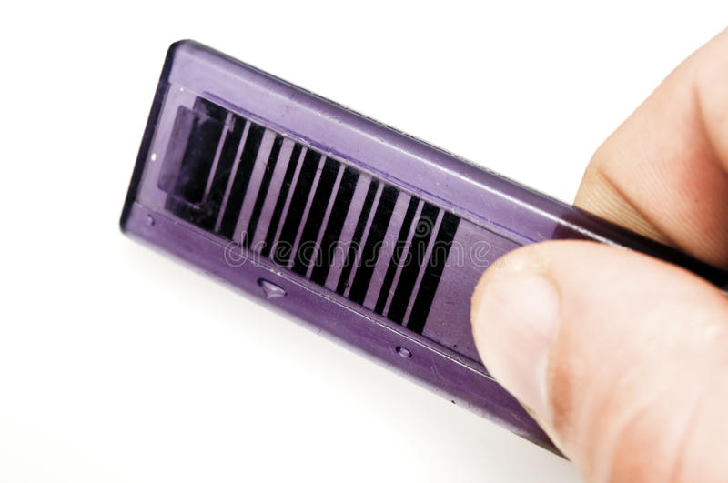 Barcode access card stock photos