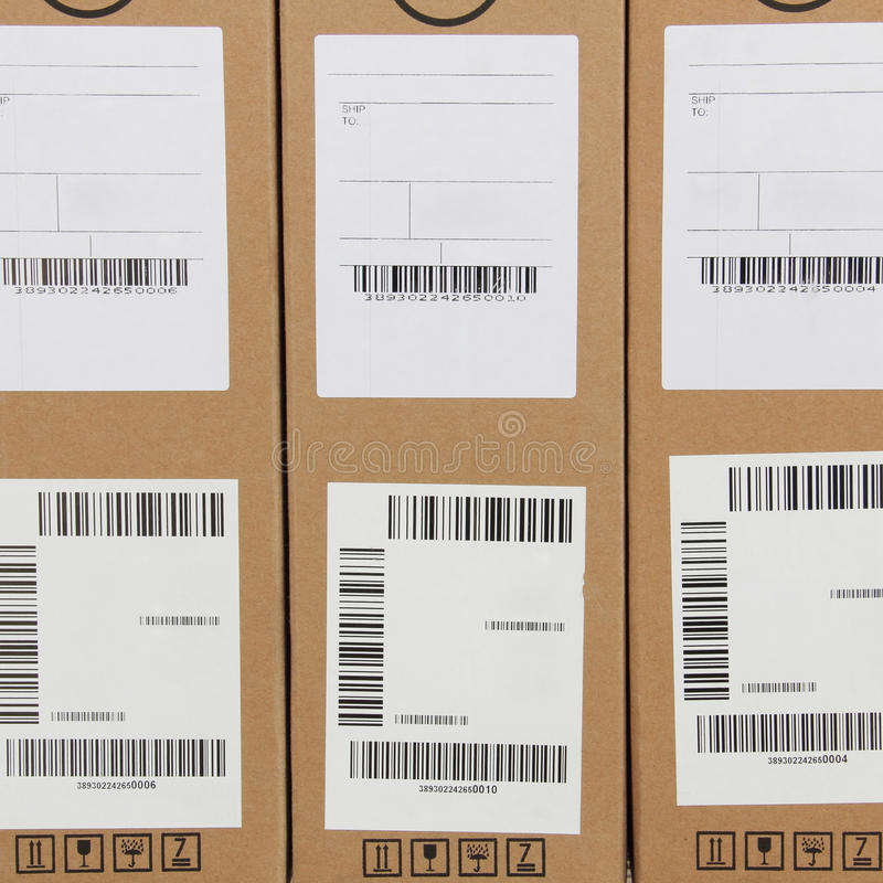 Barcode label royalty free stock photos