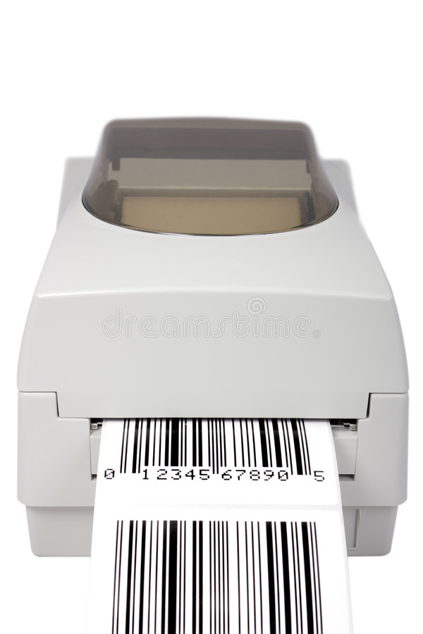 Download Barcode Label Printer Stock Photography - Image: 6771902