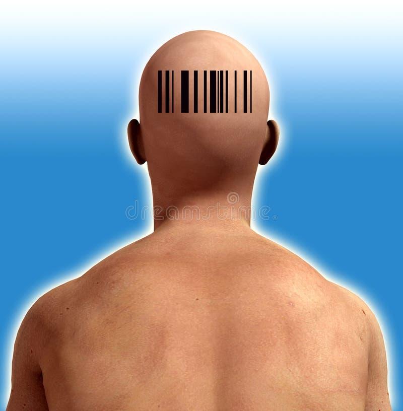 Download Barcode Man stock illustration. Illustration of code, rectangle - 6973451