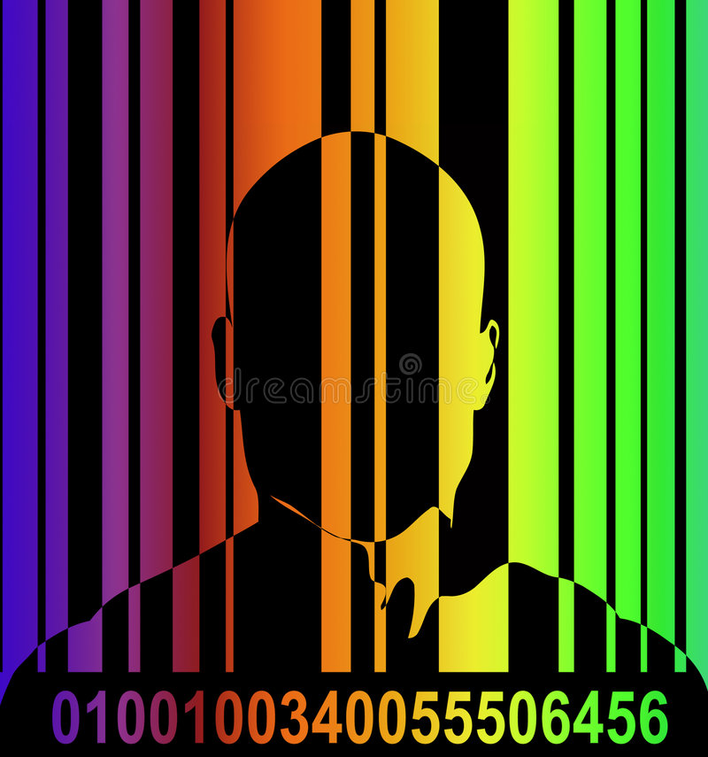 Download Barcode And Man 7 Royalty Free Stock Photo - Image: 2635035