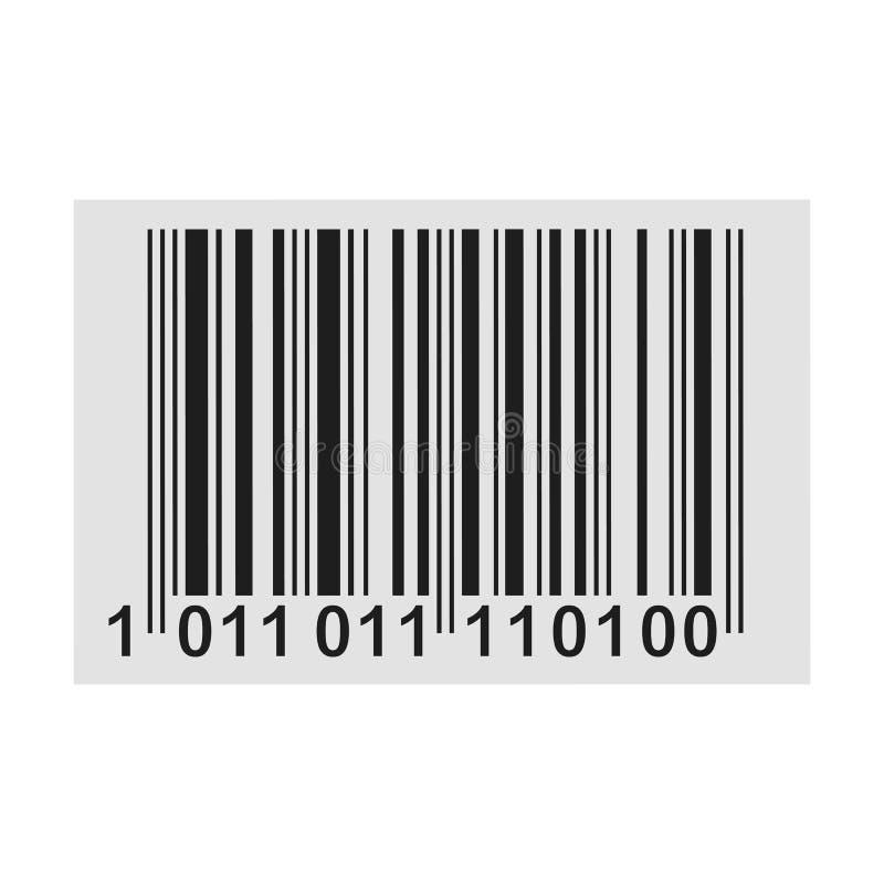 Barcode produktu dystrybuci ikona - wektor ilustracji