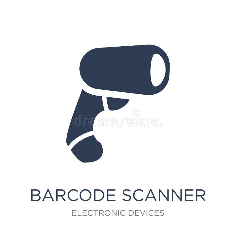 Barcode przeszukiwacza ikona  ilustracja wektor