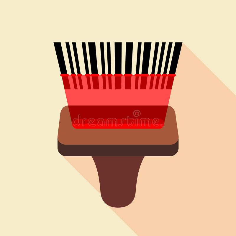 Download Barcode Reader Icon Flat Style Stock Vector