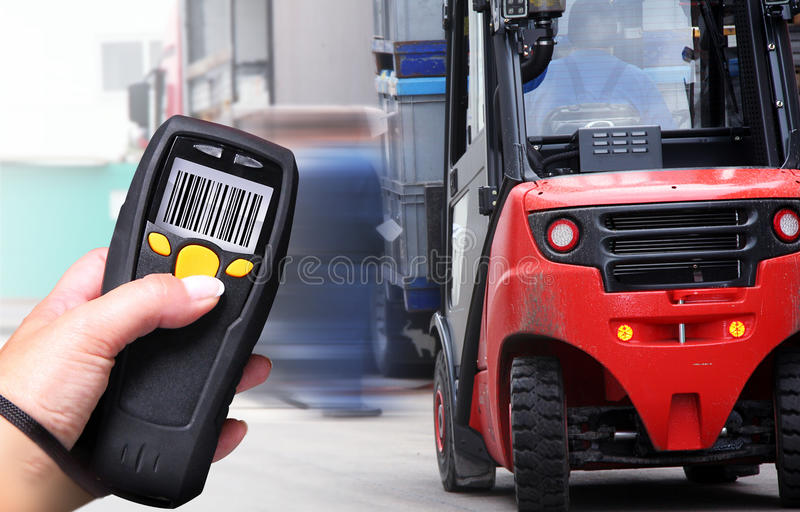 Barcode-Scanner Stockfotos