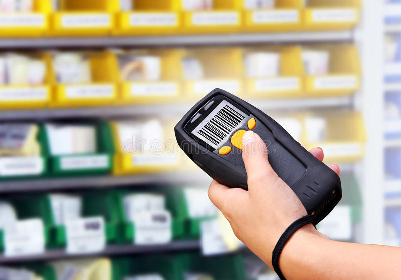 Download Barcode Scanner stock photo. Image of data, digital, industrial - 26965778