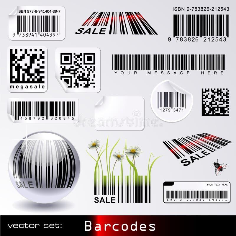 Barcode-stellen Sie ein