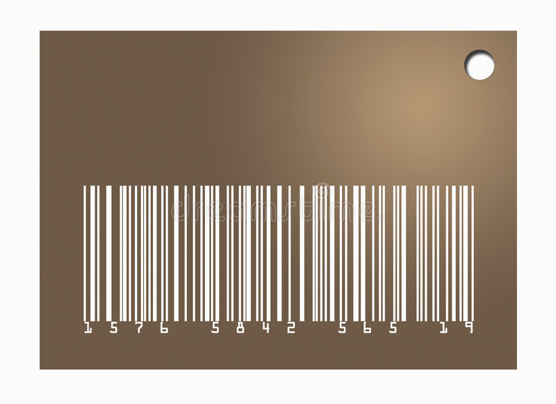 Download Barcode Tag stock illustration. Illustration of horizontal - 7494985