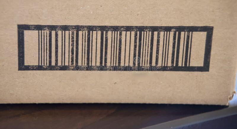 Barcodeproduktetikett royaltyfri fotografi