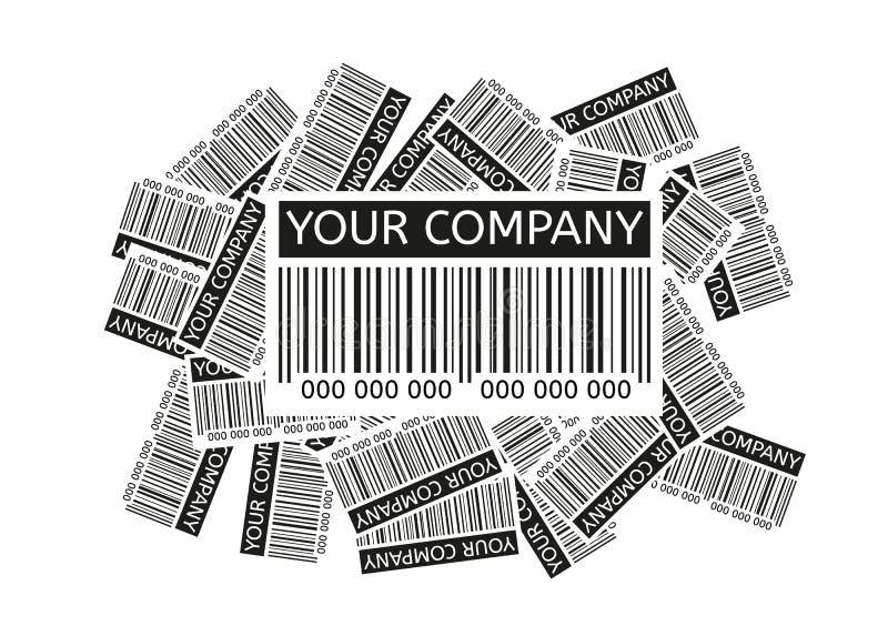 Barcodes wektorowi ilustracji