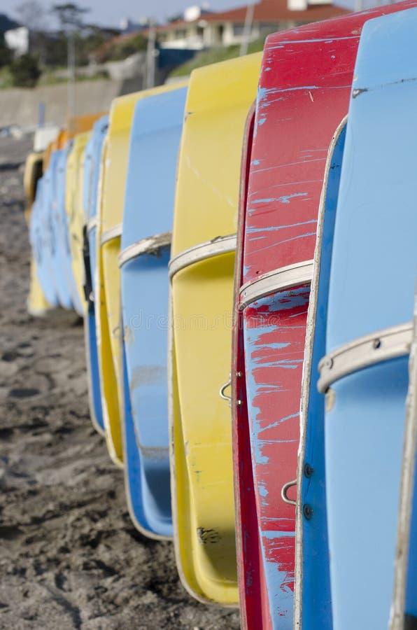Barcos coloridos foto de stock royalty free