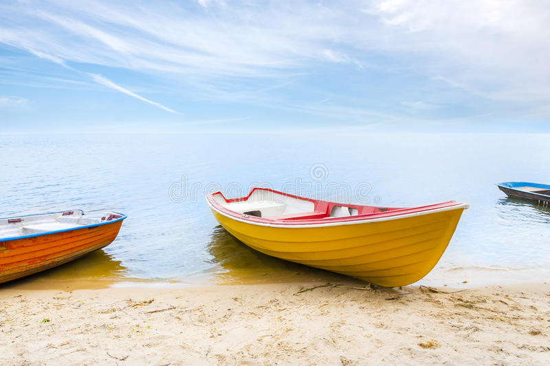 Barcos coloridos fotos de stock royalty free