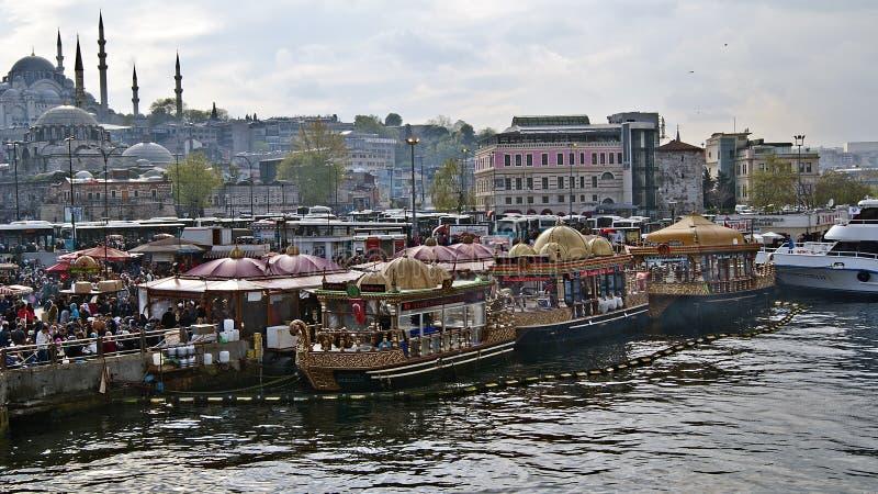 Barcos de Fisher foto de archivo