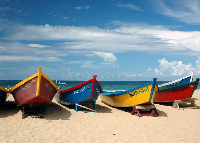 Barcos de Fishermens imagen de archivo libre de regalías