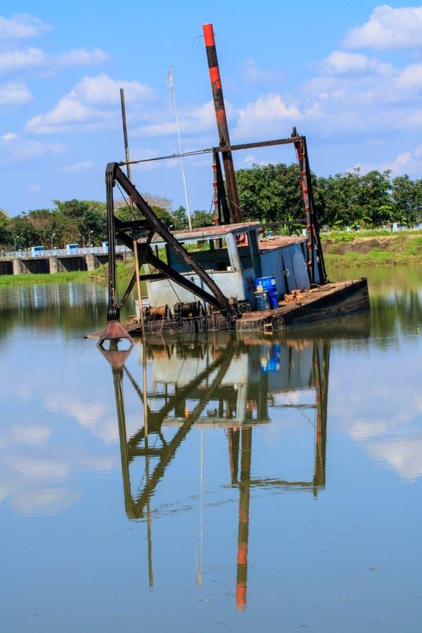 Barcos de la arena fotos de archivo