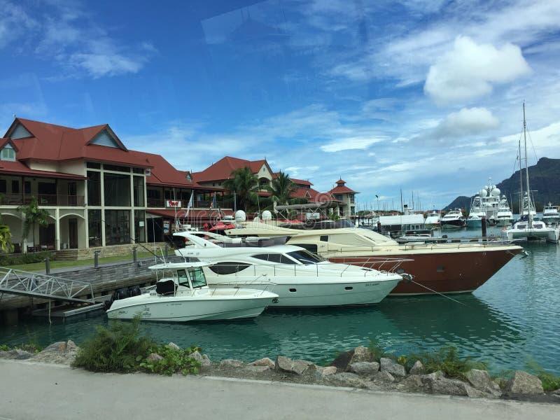 Barcos de Perth imagem de stock