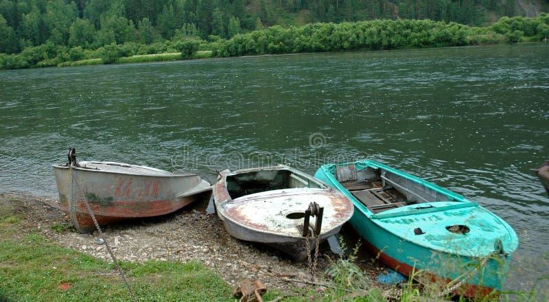 Barcos de pesca. fotografía de archivo libre de regalías