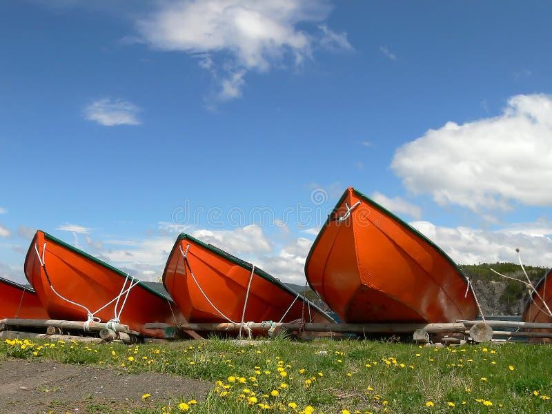 Barcos de pesca 2 imagens de stock royalty free