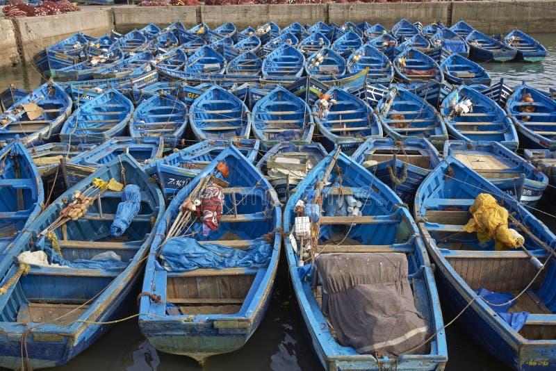 Barcos de pesca foto de stock