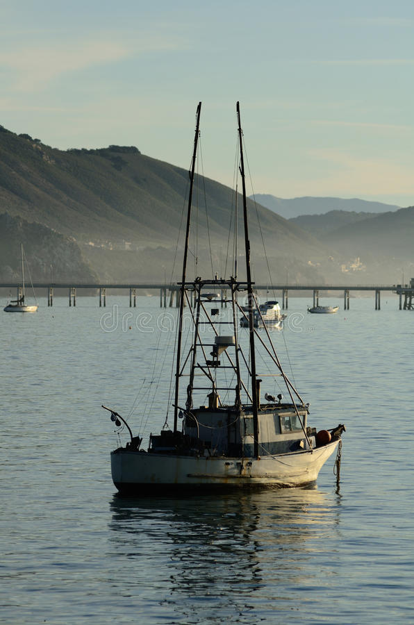 Barcos de Pismo fotos de stock royalty free
