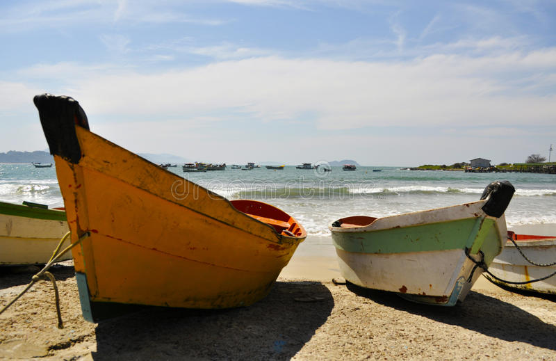Barcos de Smalles foto de stock royalty free