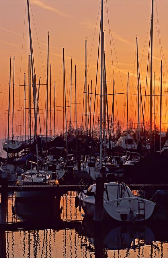 Barcos de vela imágenes de archivo libres de regalías