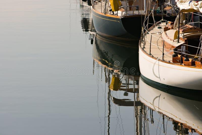 Barcos de vela clássicos imagem de stock royalty free