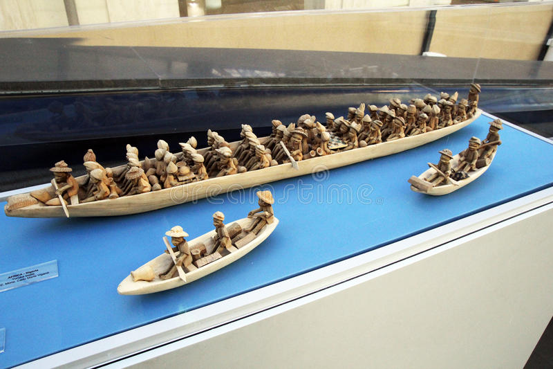Barcos de Yoruba fotografía de archivo libre de regalías