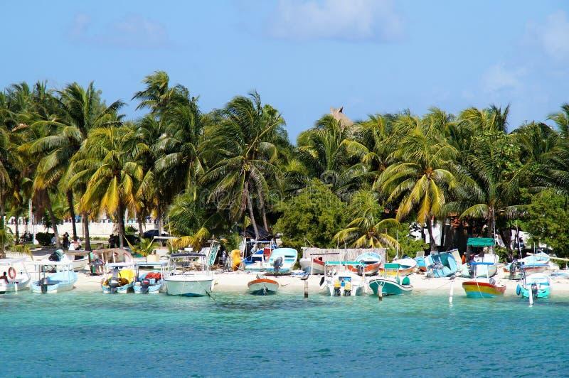 Barcos del Caribe imágenes de archivo libres de regalías