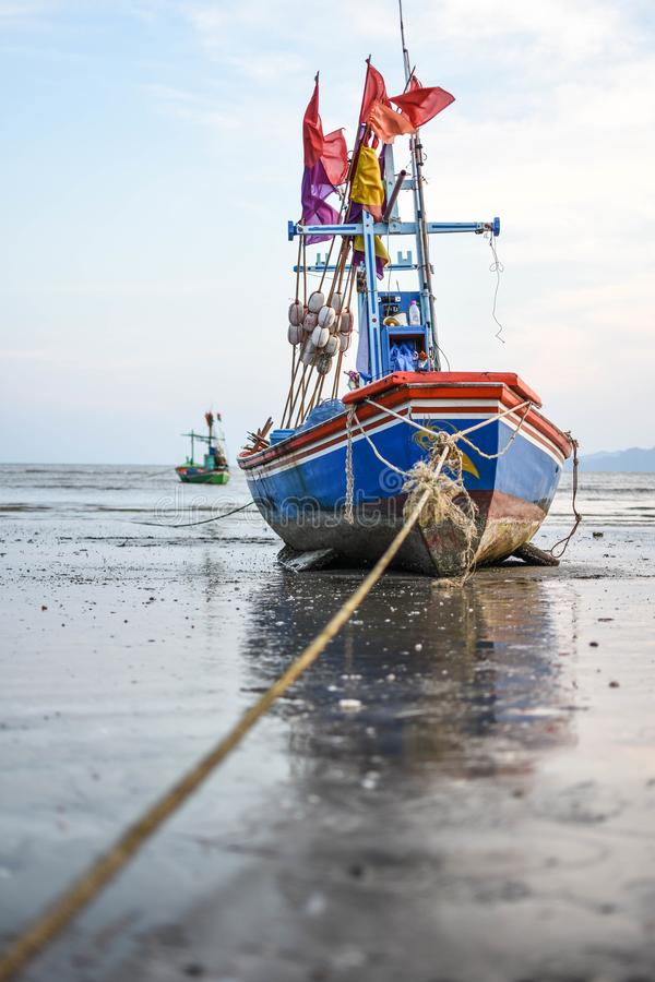 Barcos e mar imagem de stock royalty free