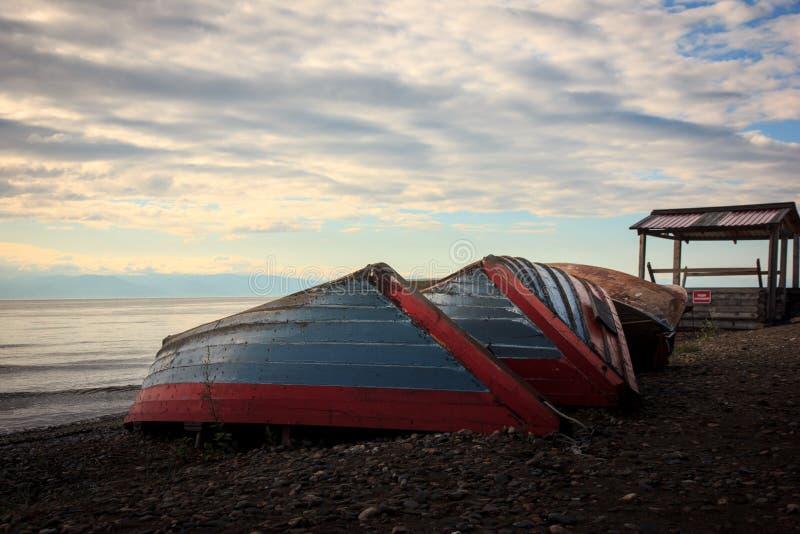 Barcos el dormir imagenes de archivo