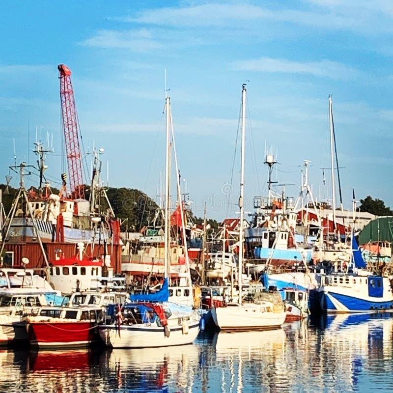 Barcos em barcos fotos de stock