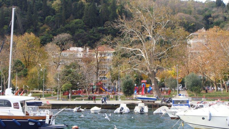 Barcos en Bosphours Istabul fotografía de archivo libre de regalías