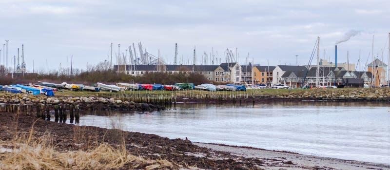 Barcos en el muelle imagen de archivo libre de regalías