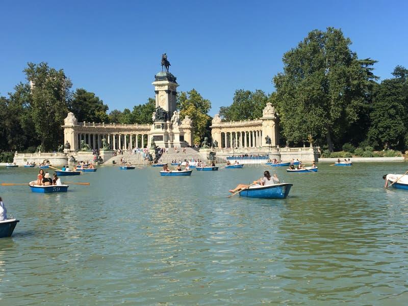 Barcos en España foto de archivo