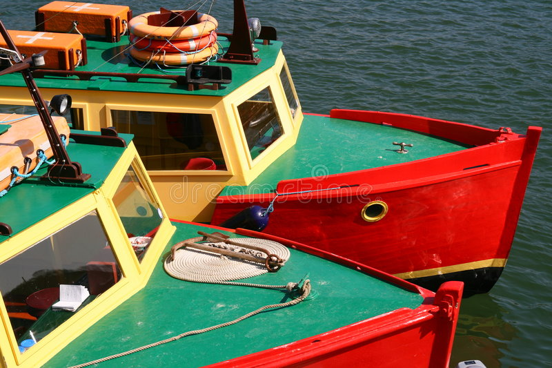 Barcos gêmeos fotos de stock