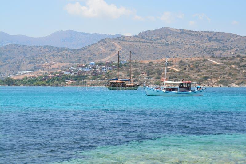 Barcos griegos fotografía de archivo